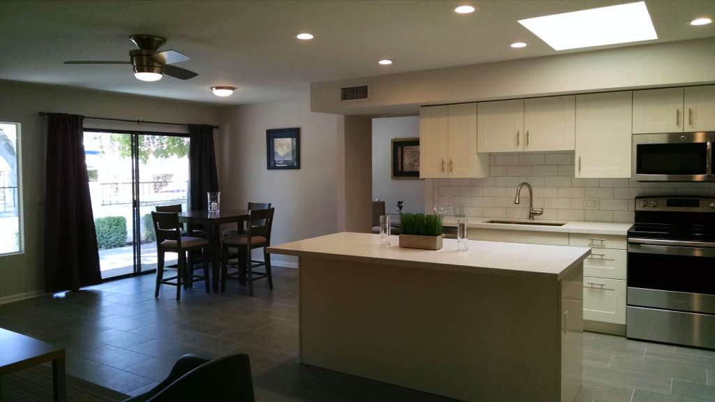 Scottsdale kitchen remodel with large island