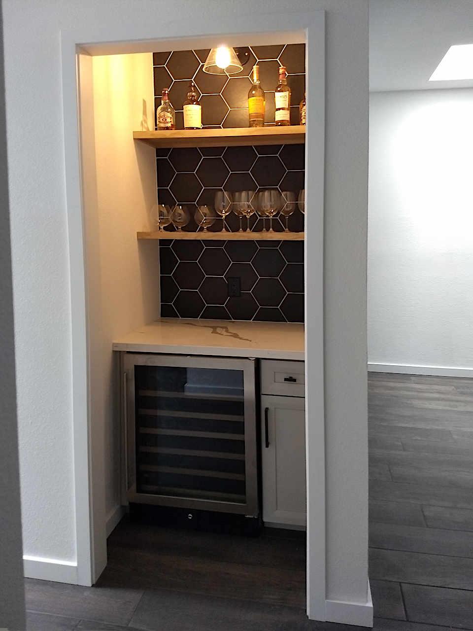 built-in-bar-in-closet