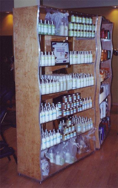 salon-display-shelves