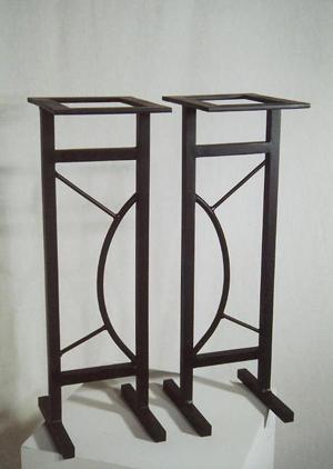 steel-speaker-stands-plant-stands
