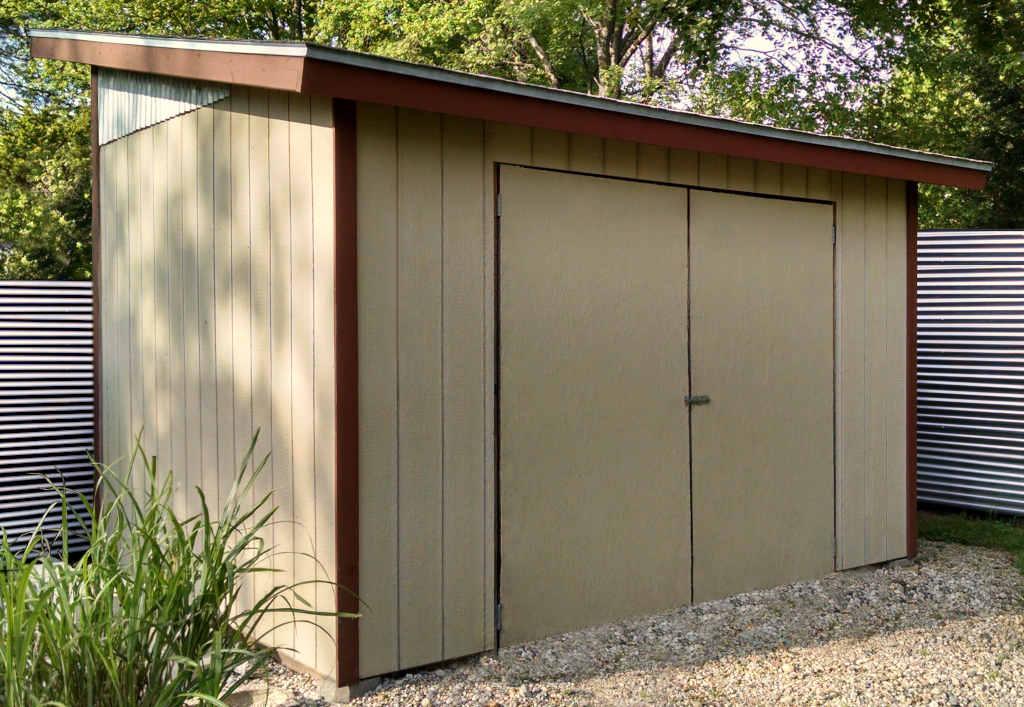 modern studio shed