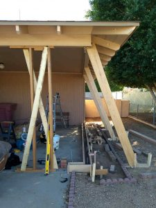 phoenix carport stem wall for garage