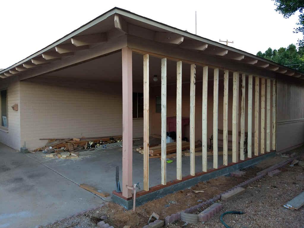 scottsdale carport garage contractor