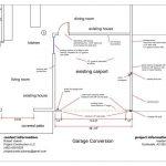 scottsdale carport to garage conversion permit drawing