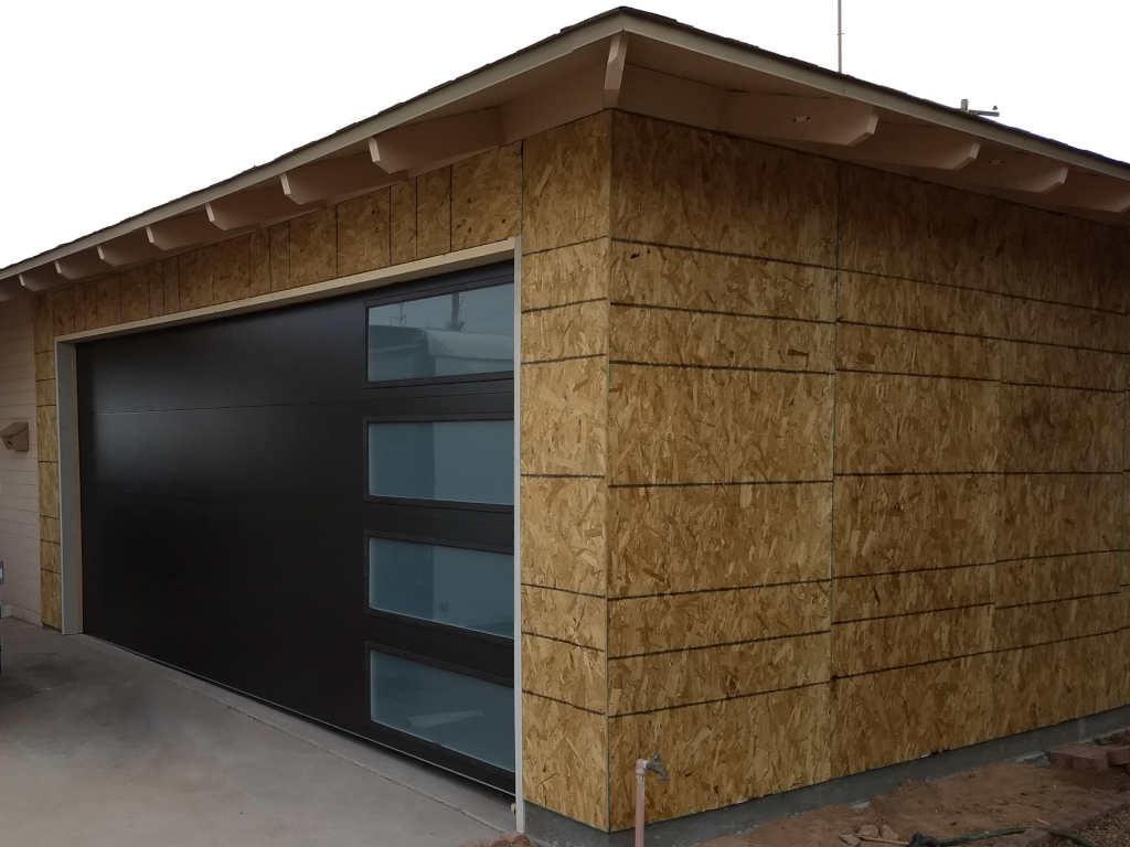 scottsdale carport to modern garage conversion