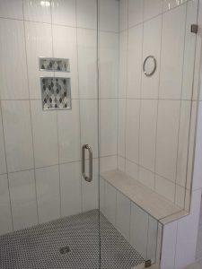 scottsdale master shower bench