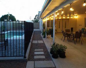 scottsdale modern patio pool