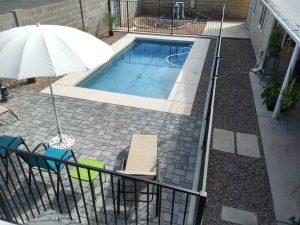 scottsdale modern pool after