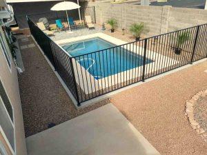 scottsdale modern pool patio