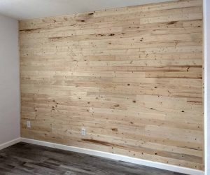 wood accent wall scottsdale home remodel