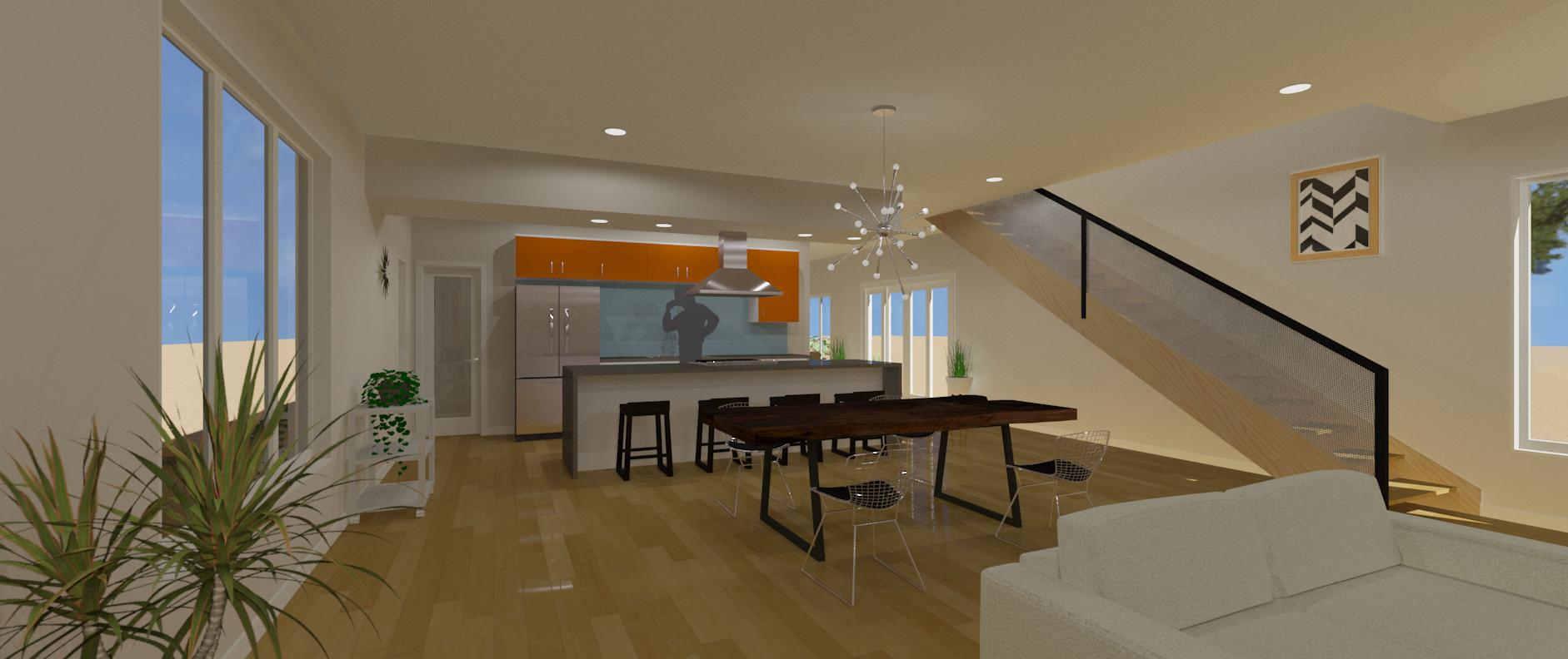 modern kitchen remodeling in scottsdale