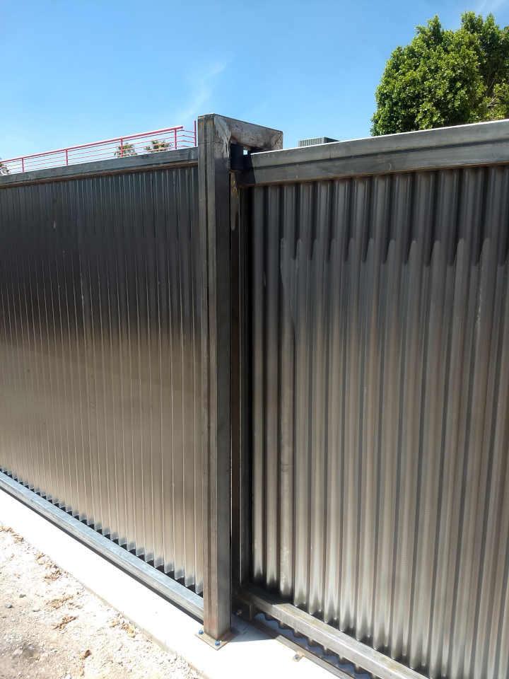 rolling steel gate guide roller scottsdale