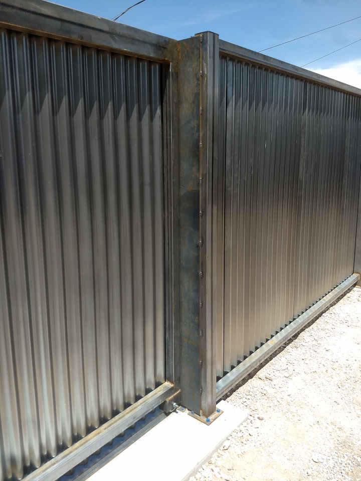 rolling steel gate stop scottsdale