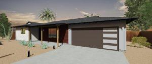 scottsdale modern carport garage conversion