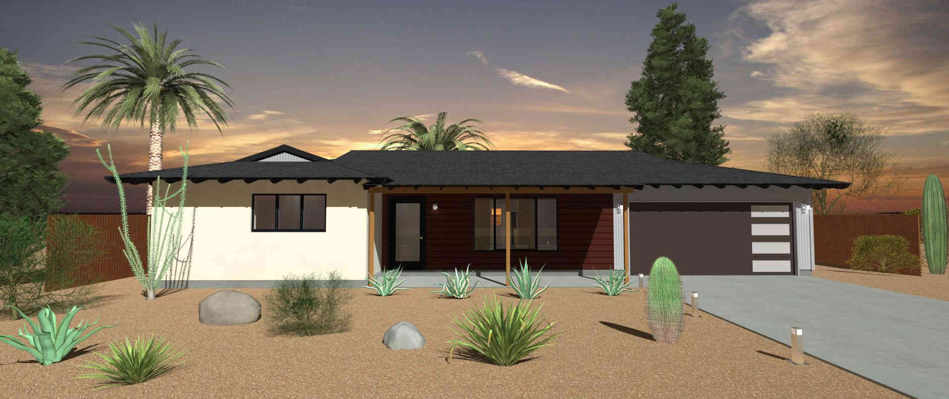 scottsdale modern ranch home remodel