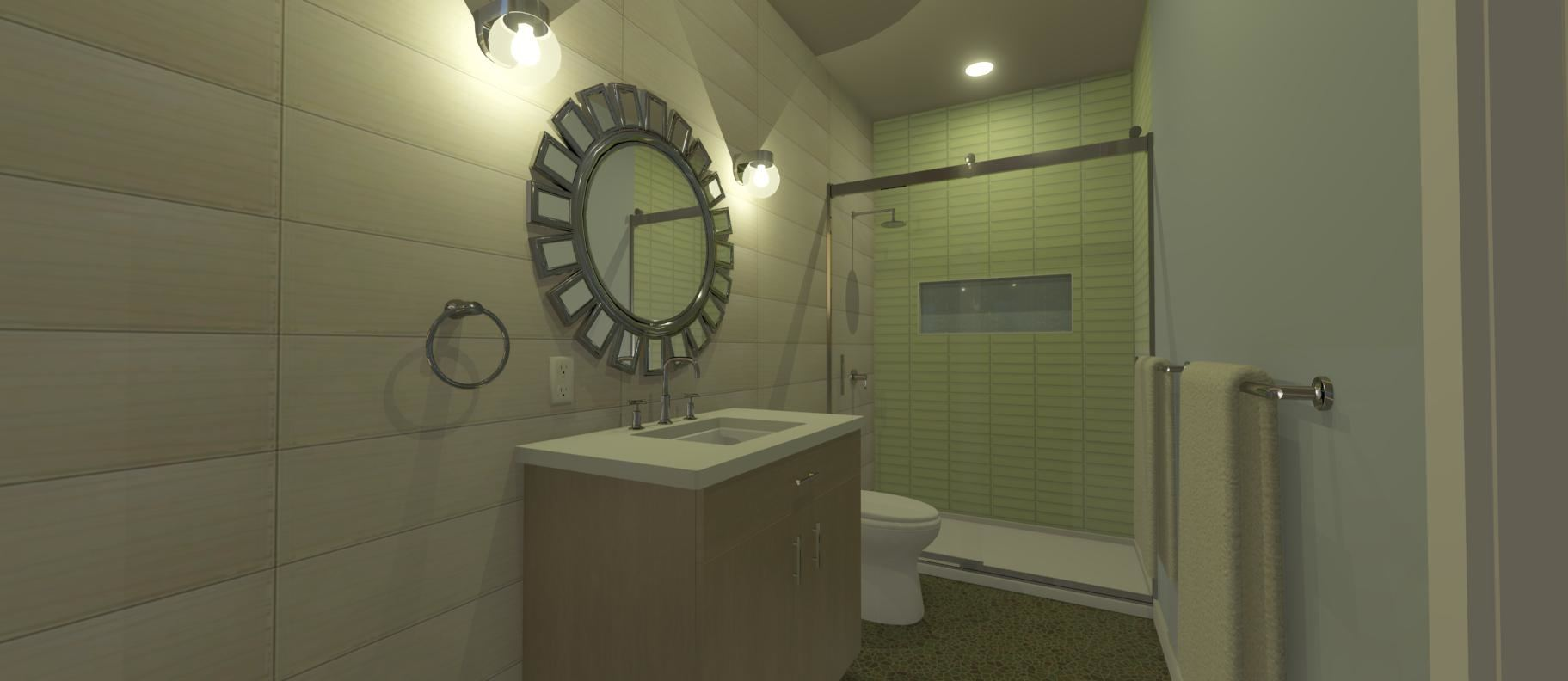 modern bathroom remodeling in scottsdale