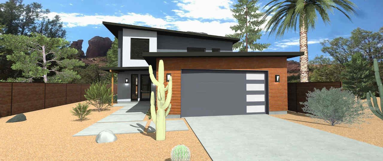modern house in scottsdale az
