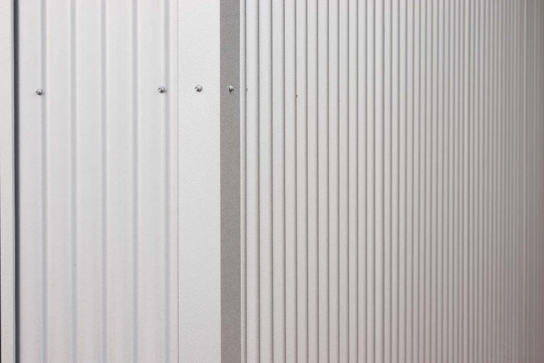 corrugated galvalume siding