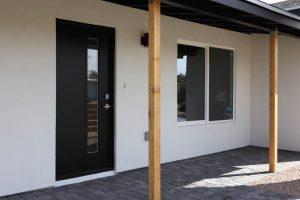 modern entry door instalation in arcadia phoenix az