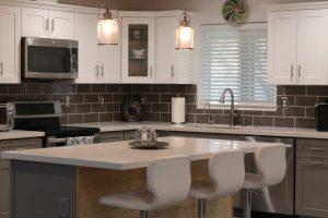 modern farmhouse kitchen design in paradise valley az