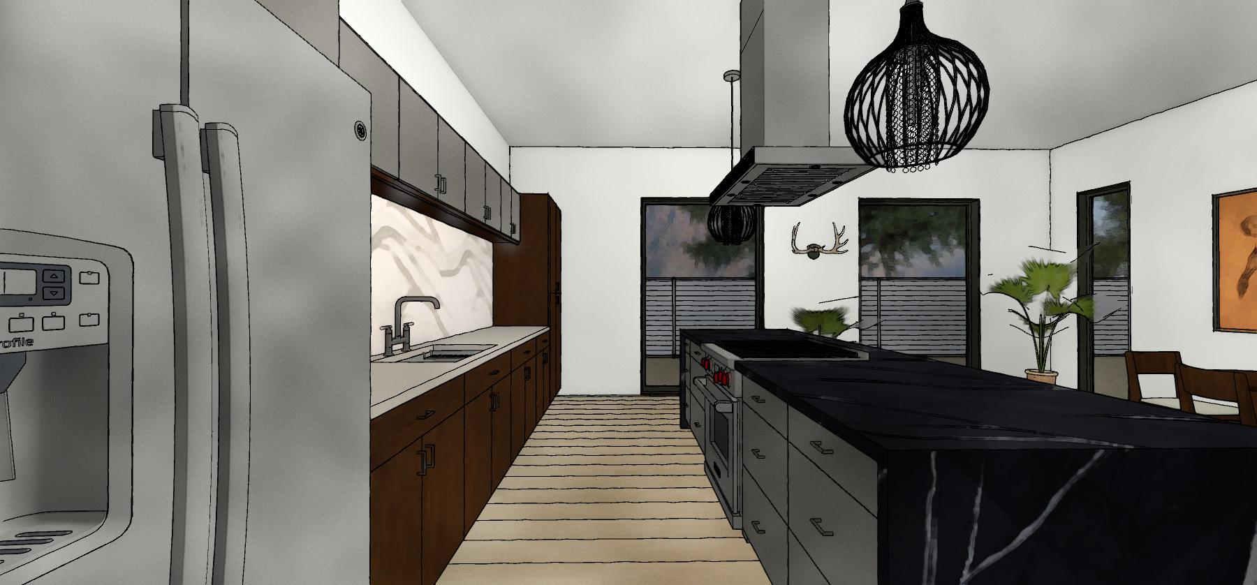 3d kitchen design paradise valley az