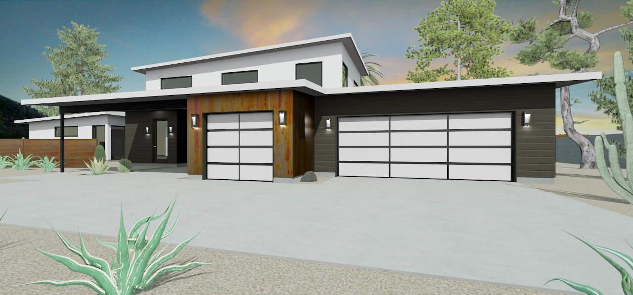 modern garage addition in paradise valley az