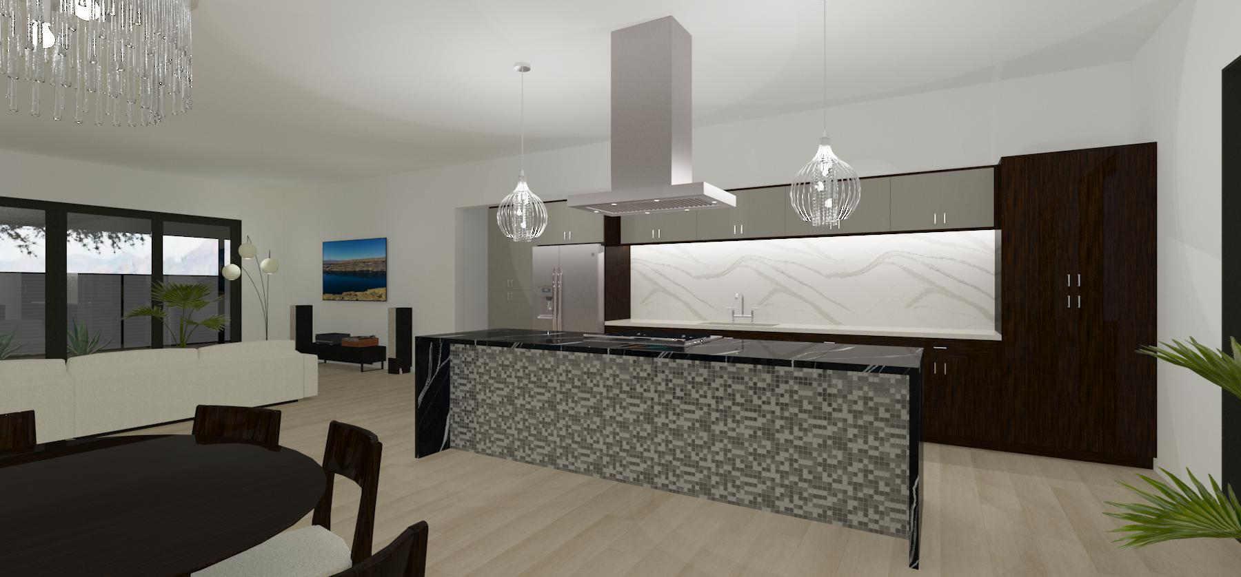 modern kitchen design construction in phoenix