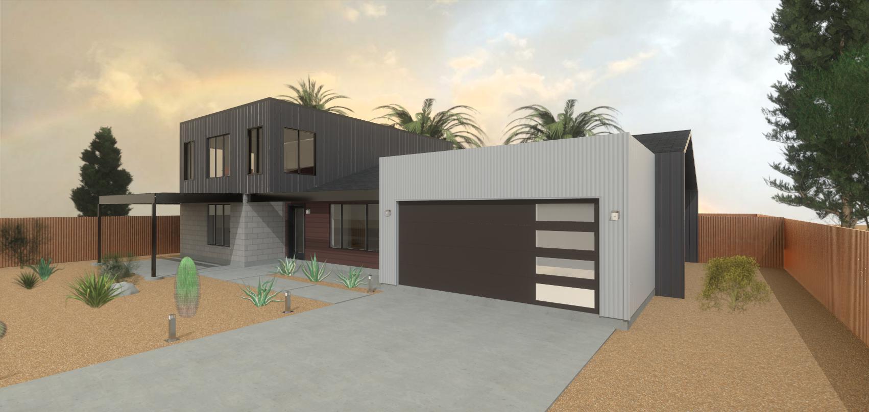 Modern Garage Addition